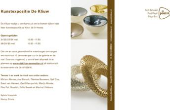 Kunstexpositie De Kliuw Heeze | 21 – 30 mei 2021
